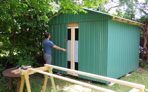 Making Doors For The Shed