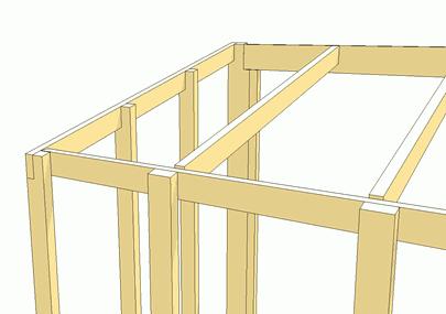 Construyendo una caseta de jard n for Como hacer caseta de madera para jardin
