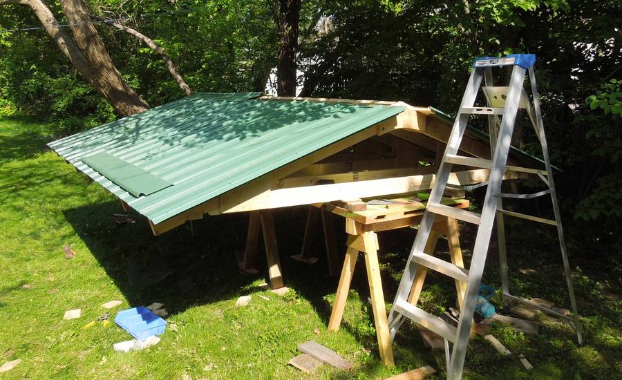 All Con What Angle Should A Shed Roof Be