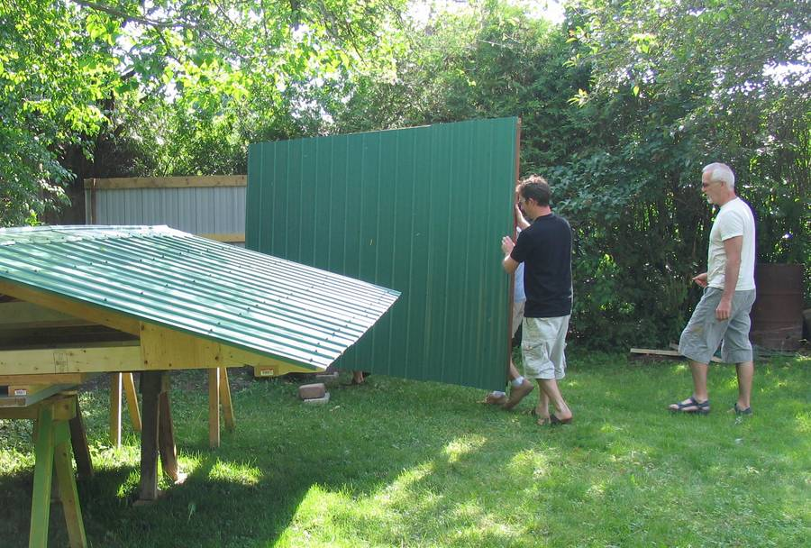 Raising A Shed In 30 Minutes