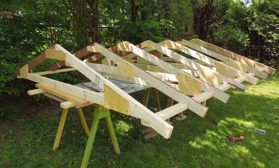 Pics Photos - How To Build Shed Trusses Cheap Sheds