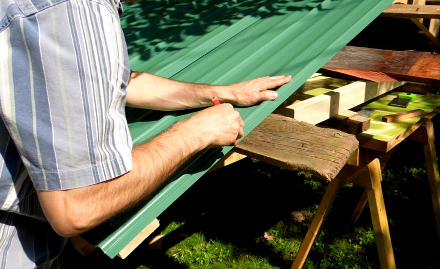 Building A Shed Metal Roofing