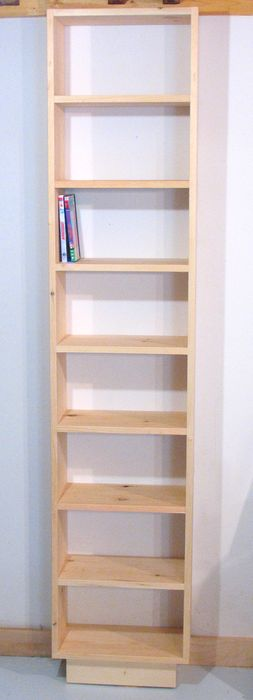 ... wanted a bookcase for her DVD collectionof very specific dimensions