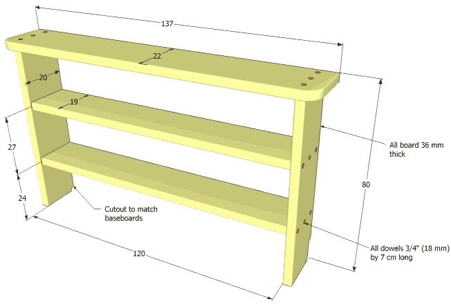 Search Results for: Woodworking Shelf Plans