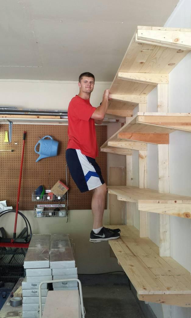 how to build shelves. Black Bedroom Furniture Sets. Home Design Ideas