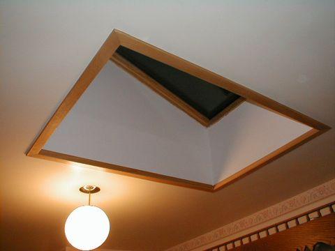 Installing a skylight - light shaft