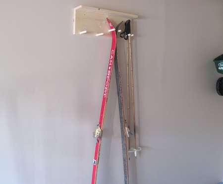 Building a ski rack