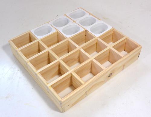 Separadores de madera para cajones. Enredandonogaraxe.com
