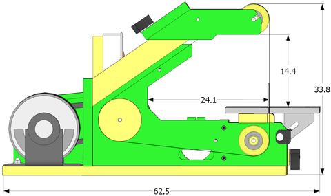 1 Quot X 42 Quot Belt Sander Specifications