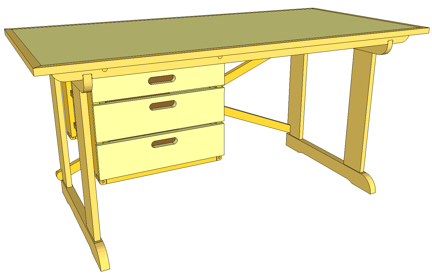 PDF DIY Wood Student Desk Plans Download wood technology | woodproject