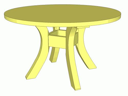 Cartoon Round Kitchen Table Www Pixshark Com Images
