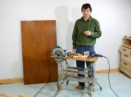 Como hacer una mesa sencilla foto a foto - Hacer una mesa de trabajo ...