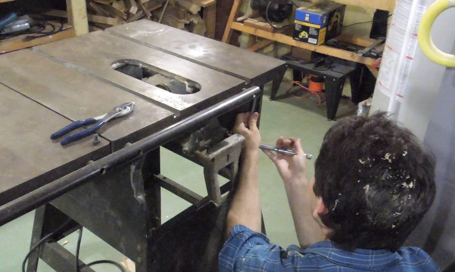Repairing An Old Rockwell Beaver Table Saw