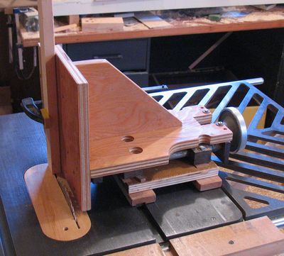 Tenoning Jig For Bosch Table Saw