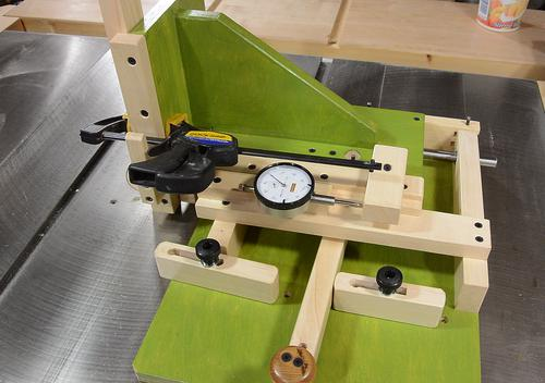 Quickset Tenon Jig Plans