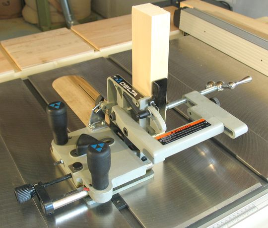 Delta Tenon Jig For Table Saw