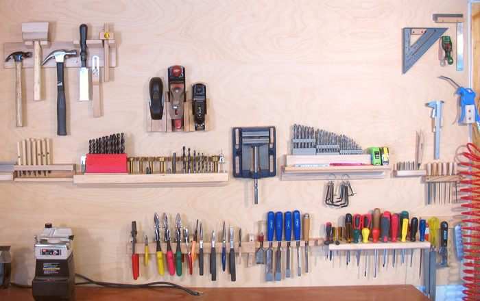 Wall Tool Holders | Ingenious Garage Organization DIY Projects And More