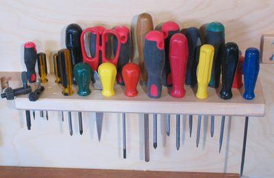 Soportes de pared para herramientas - Tablero para herramientas ...