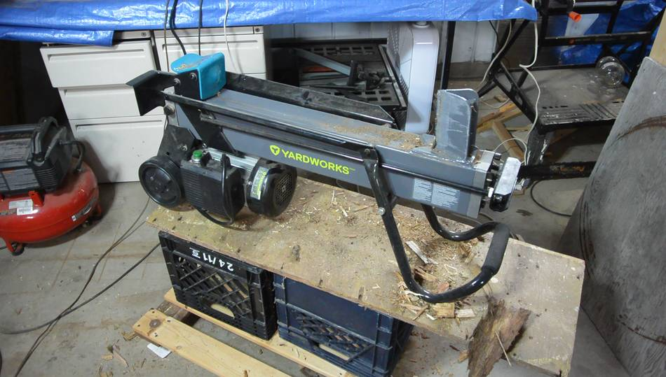 Stand For Electric Log Splitter