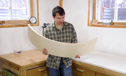 Making A Curvy Board An Experiment With Free Form Bent