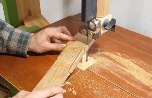 Making The Neck For The Ukulele