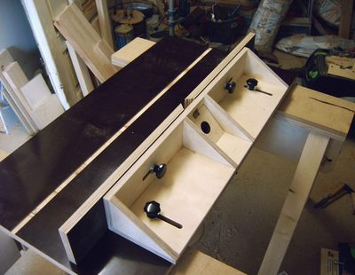 router table fence design
