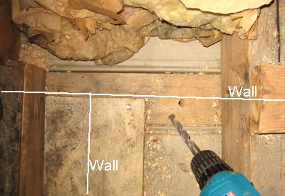 Pulling Wires Through Walls