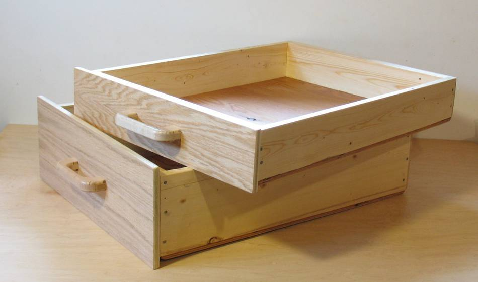 Building Wood Drawers ~ Workbench drawers