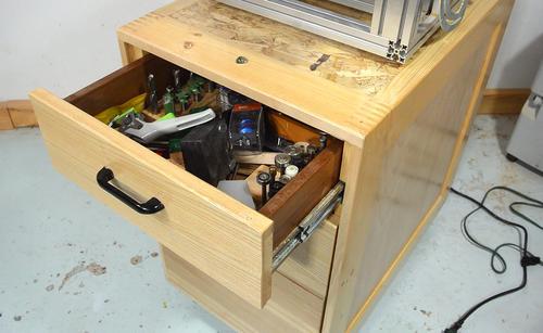 Workbench On Wheels Build