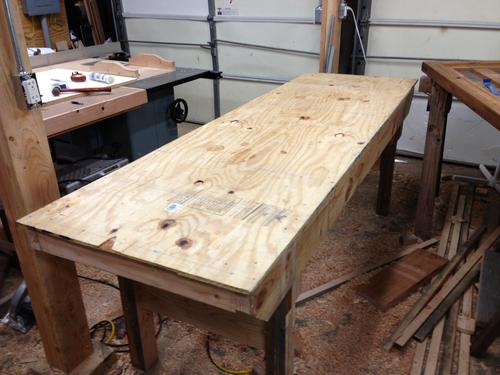 Kevin S Knock Down Workbench