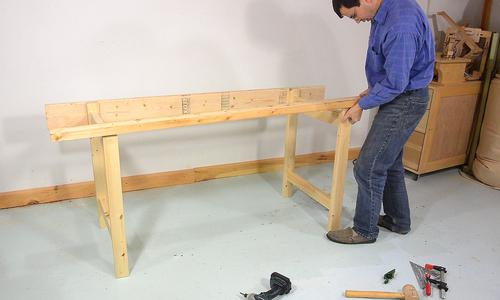 Mortise And Tenon Workbench