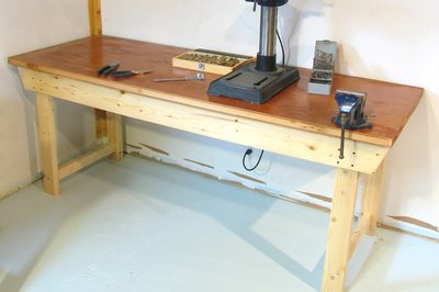 Simple wood workbench plans | Tarman