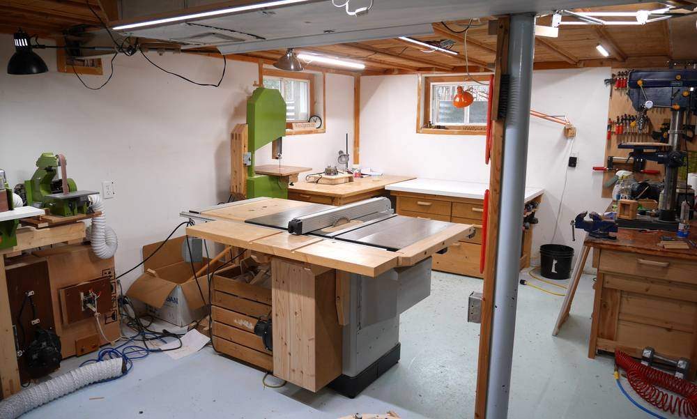 cabinet shop the last tour of my basement workshop 13039