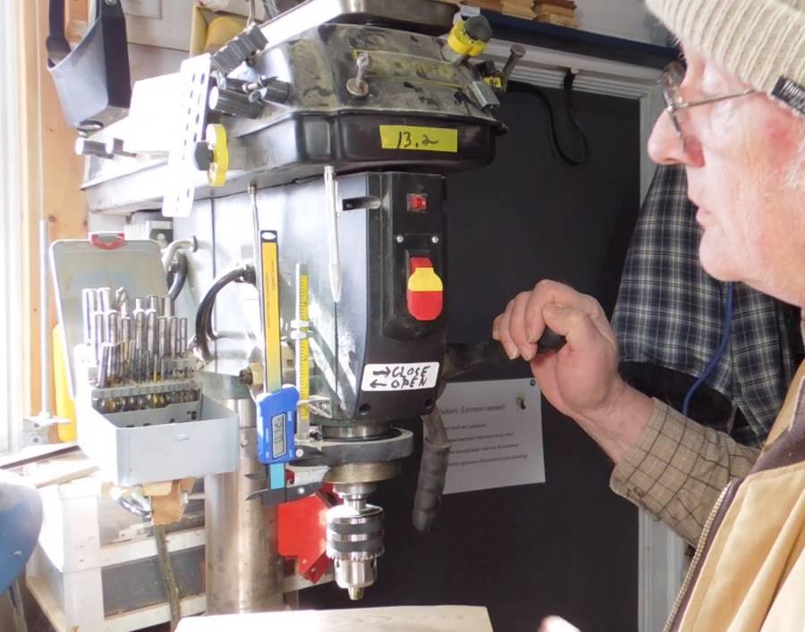 Bill S Drill Press Modifications