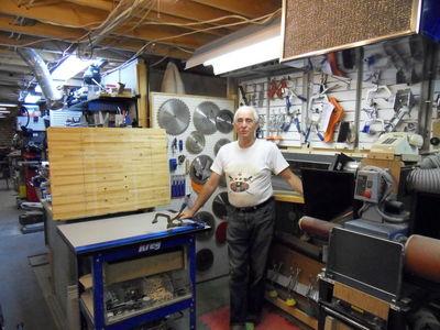 Jacques Jodoin's amazing workshop