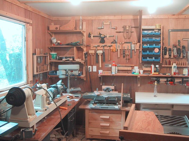 My Old Woodworking Workshop